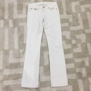 BCBGMAXAZRIA white jeans